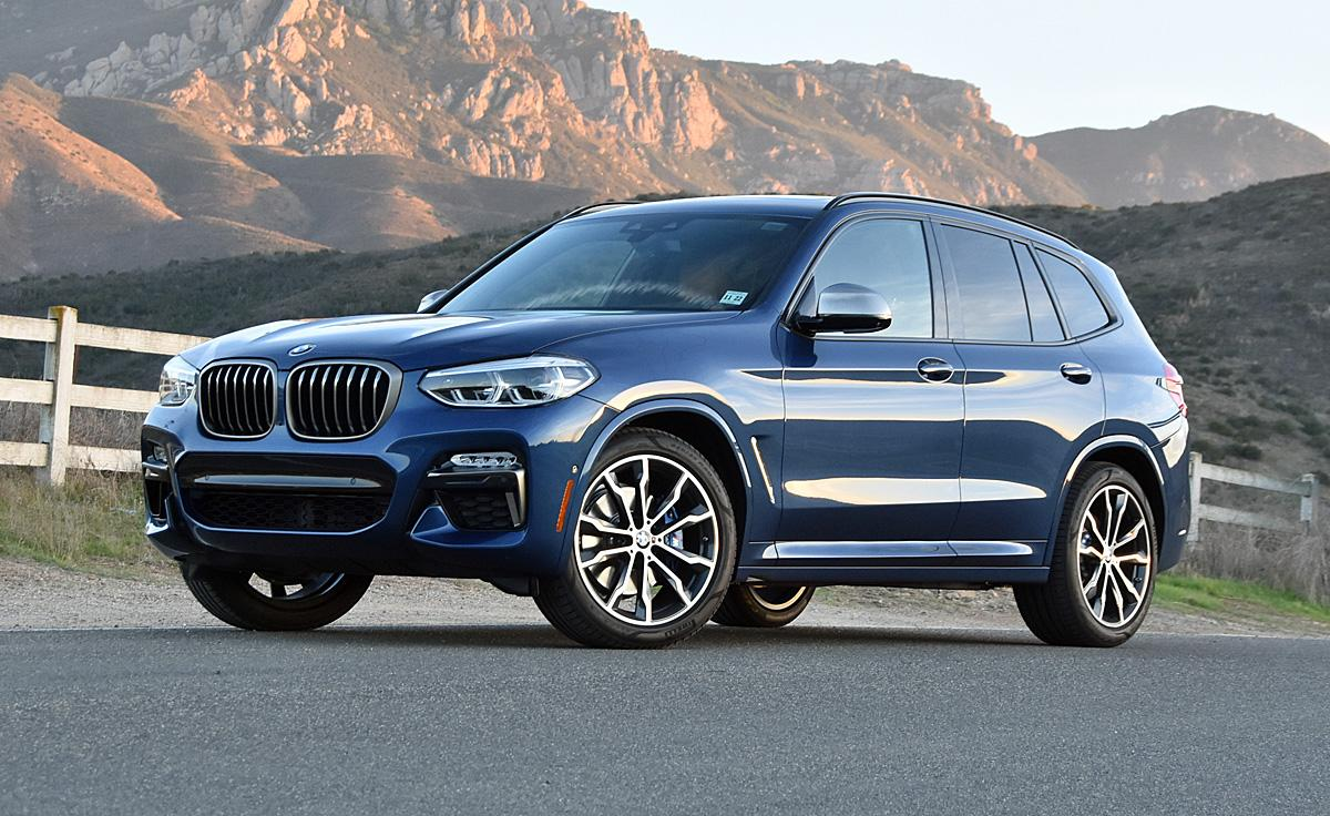 The 2018 BMW X3 M40i exceeds expectations scores on many fronts