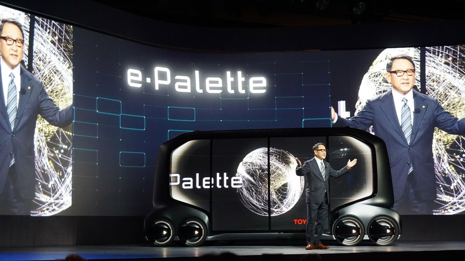 How the Toyota E-Palette paves way for endless possibilities?