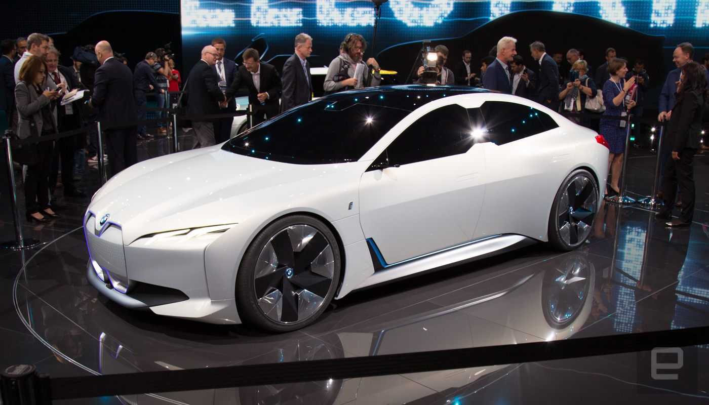 Frankfurt 2017 BMW unveils iVision Dynamic concept sedan