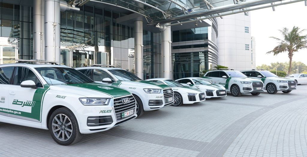 Fastest Police Cars in Dubai: Top 3 Cars Used by Dubai Police