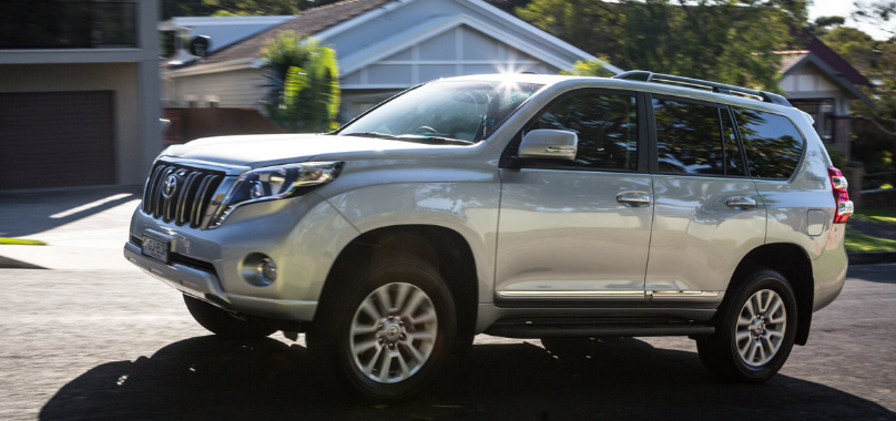 Make way for all new Toyota Land Cruiser Prado