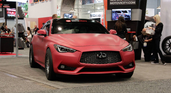 Infiniti and AMS join forces to power up the upcoming Infiniti Q60 Red Alpha