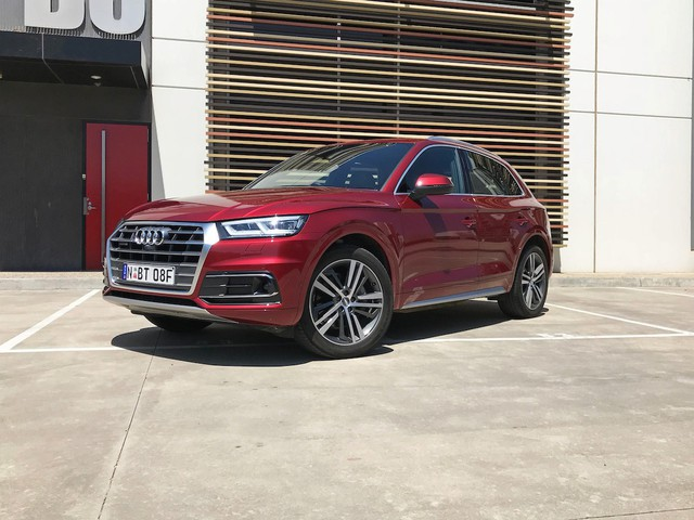 2017 Audi Q5 2.0 TFSI Quattro Sport The technological marvel on Dubai roads