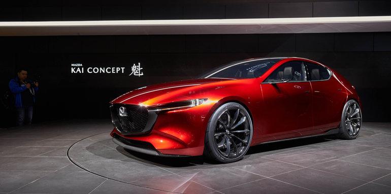 Mazda Kai concept previews the highly fuel-efficient 2019 Mazda 3