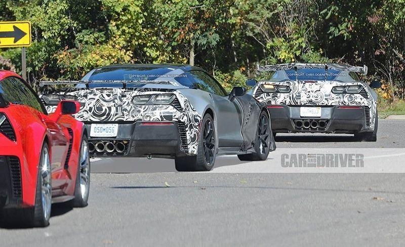 اعصار شيفورليه الجديدة كلياً Corvette ZR1