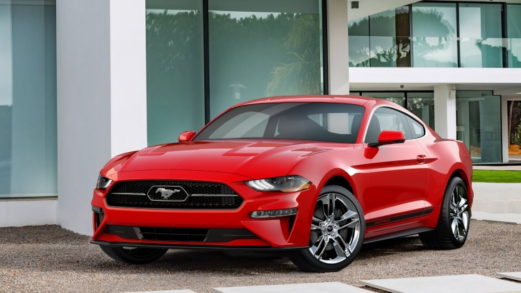 2018 Mustang Pony Package looks decent