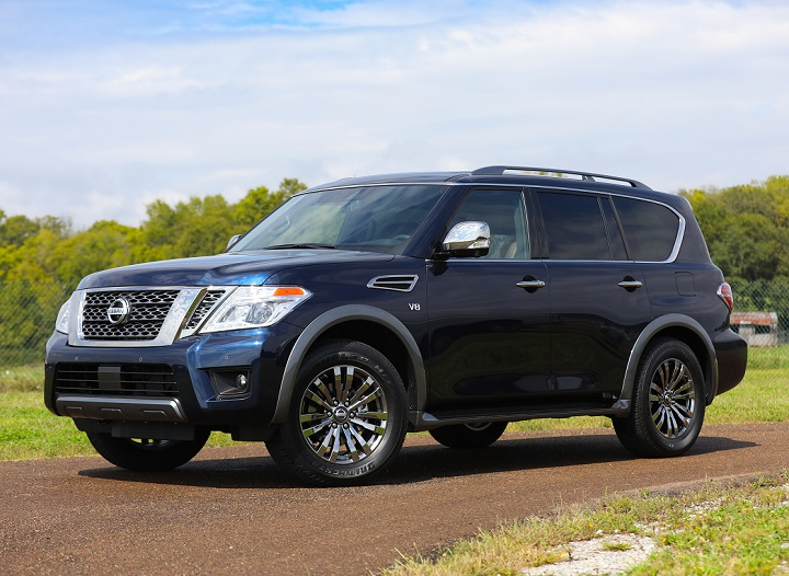 2018 Nissan Armada Premium Reserve finally inches closer to QX80