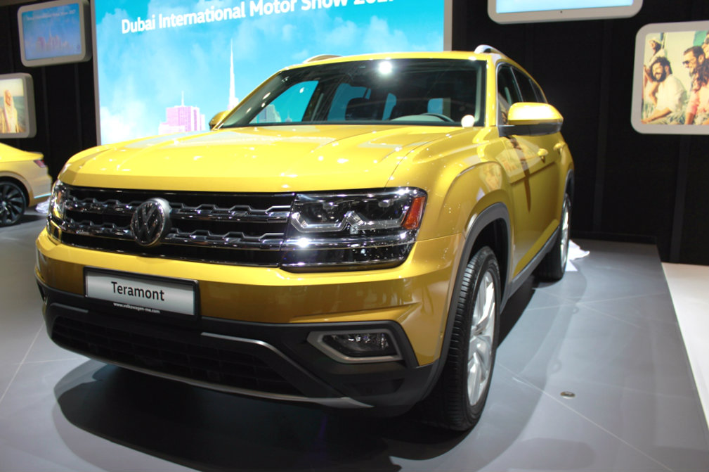 2018 Volkswagen Teramont may prove to be a game changer in the Dubai market