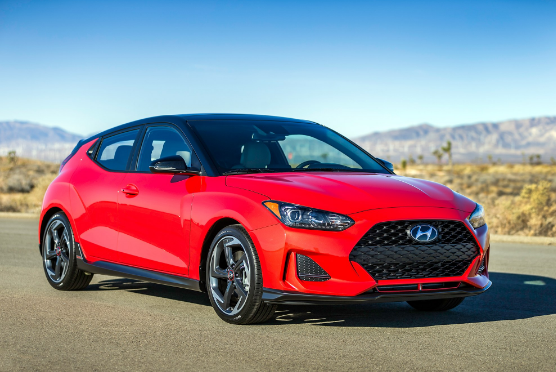 The 2019 Hyundai Veloster unveiled long with a powerful variant