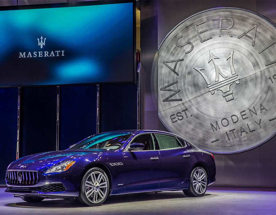 Maserati Ghibli unveiled in style