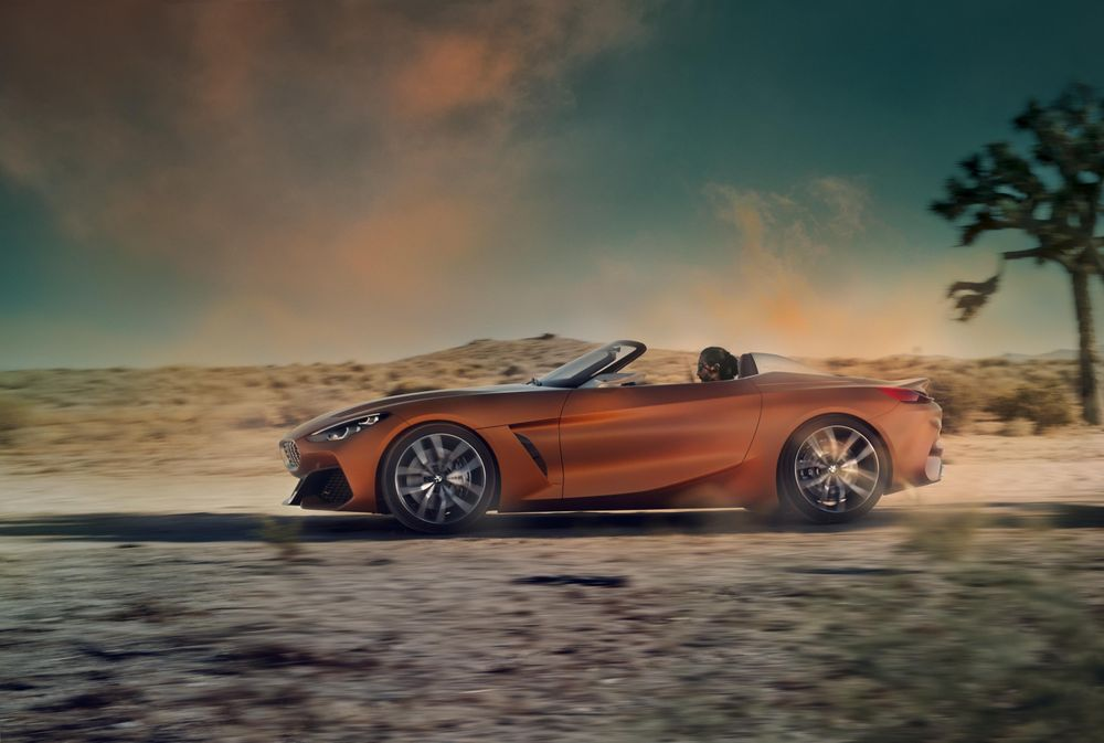BMW Z4 Concept Revealed: Will the actual model exceed expectations?