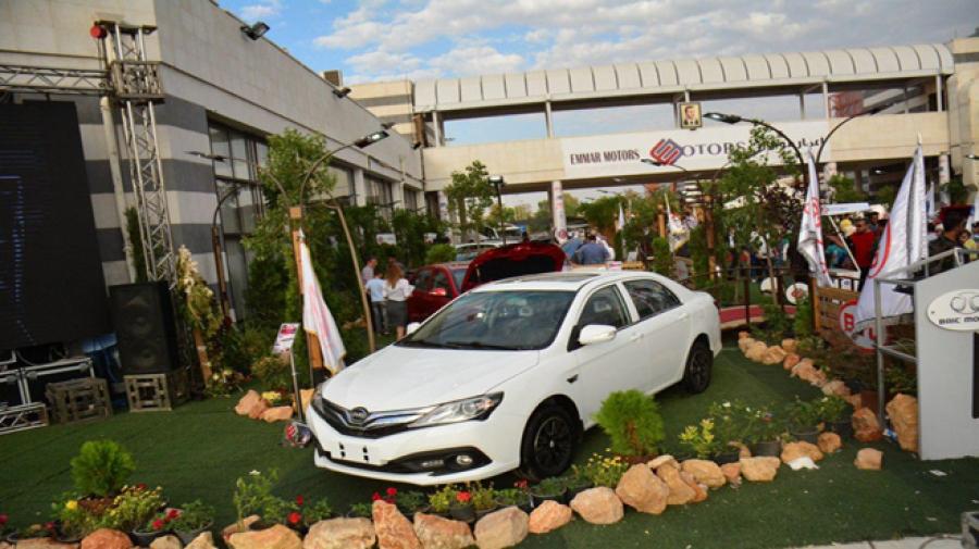 نشرة اسعار السيارات في معرض دمشق للسيارات