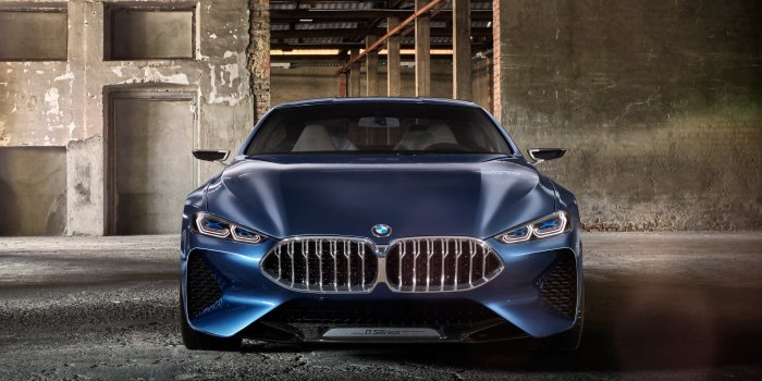 BMW 8-series coupe all set for the production