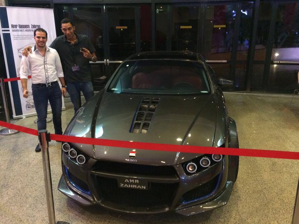 Amr Zahran designs the first local Egyptian sports car