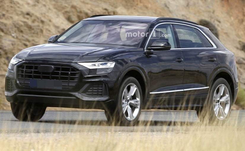 Near-production version of Audi Q8 spotted more design cues revealed