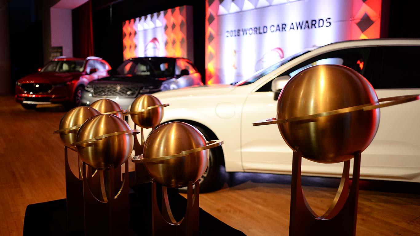 The Winner Audi A8 picks up the World Luxury Car 2018 award