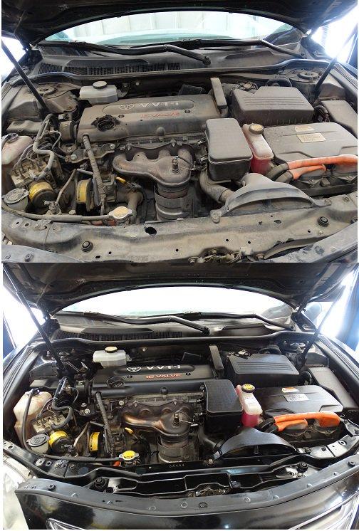 نظف محرك سيارتك بأسهل الطرق واحصل على فوائد عديده
