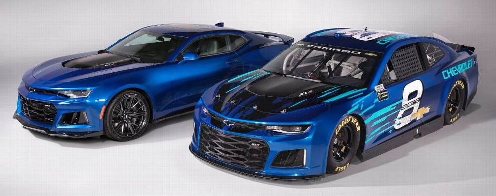 The beginning of a new era Camaro ZL1 relaunched for NASCAR cup series