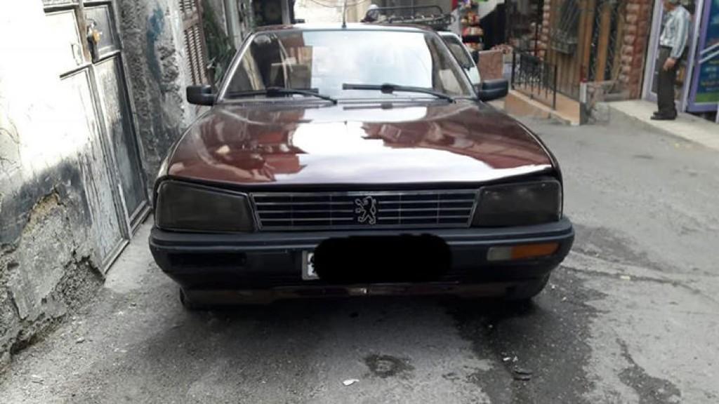 1986 بيجو 505