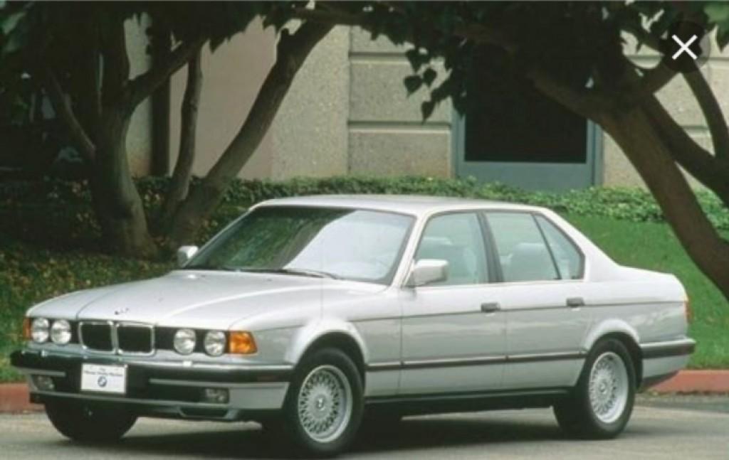 1991 بي ام دبليو الفئة السابعة