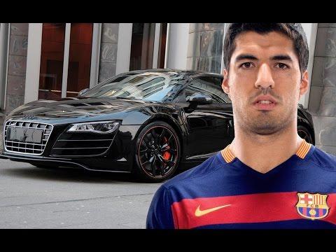 Video: Luis Suárez's dazzling car collection