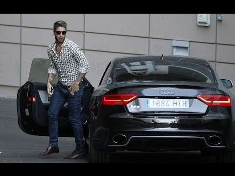 Sergio Ramos collection of fantastic cars