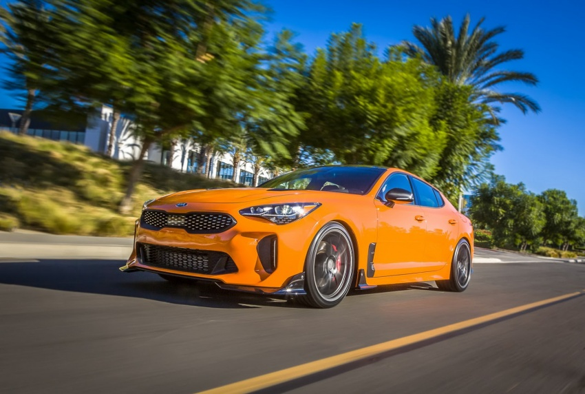Kia showcases sportier versions of the Stinger GT at SEMA