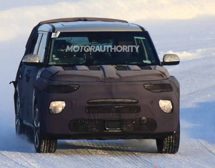 The invigorated 2020 Kia Soul spotted on a test drive