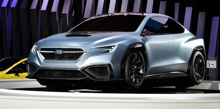 النموذج الأولّي سوبارو فيفيز يمهد الطريق للجيل الجديد من دبليو ار اكس في معرض طوكيو للسيارات