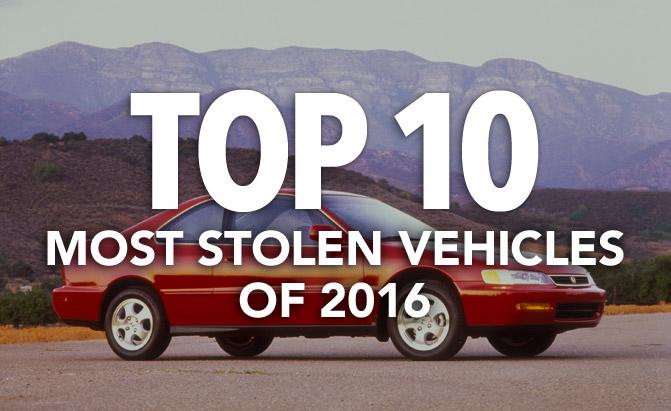 أن أي سي بي تعلن عن قائمة أكثر 10 سيارات تم سرقتها في 2016